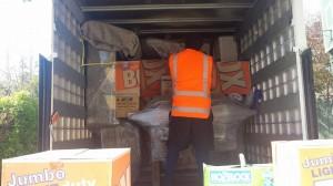 demoir packing truck